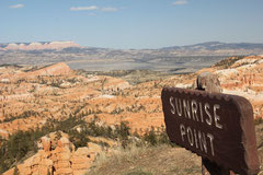 Sunrise Point am Bryce Canyon