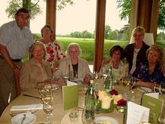 Das Team: Karl-Heinz Abele, Heide Abele, Edith Kniel, Helga Ruhrmann, Margret Bienen, Inge Klein und Hildegard Eul