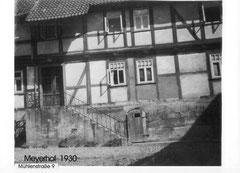 Der ehemalige Meierhof -