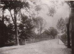 Oderbrücke im Jahr 1920, sie wurde kurz vor Kriegsende 1945 gesprengt.