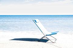 Chair at the beach, Katalonien