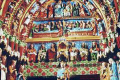 Kathedrale von Amiens, Marienportal farbrekonstruiert