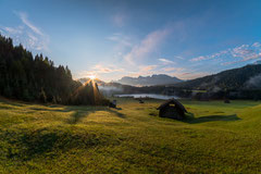 Sonnenaufgang am Geroldsee by Sebastian Pintea