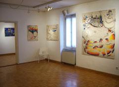 Ausstellungsräume in der Otto Galerie
