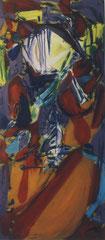 Gehbilder, Türbilder, Öl auf Leinwand, 1994