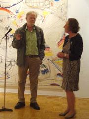 Armin Saub mit Frau von Baranov