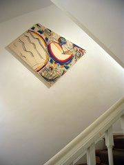 Treppenhaus in der Otto Galerie