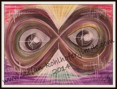 Unbeschreiblich - 2014 - Pastellkreide auf Papier, Größe A3