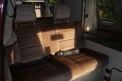 Originale und unzerstörte Innenausstattungen lassen einen deutlich höheren Kaufpreis zu, insbesondere bei den Reisemobilen.
