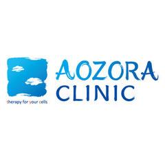 AOZORA CLINIC様 筆文字店舗ロゴ