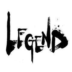 筆文字ロゴ『LEGEND』