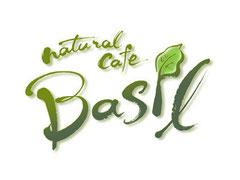 筆文字店舗ロゴ『natural cafe BASIL』 ハーブを使ったヘルシーなランチがいただける お洒落なカフェレストランをイメージして書きました
