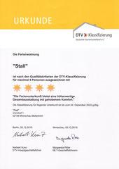 vom DTV mit 4 Sternen bewertet