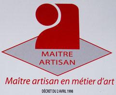 MAITRE ARTISAN D'ART