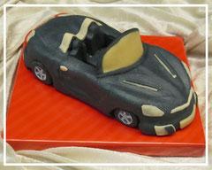"""Marzipanauto """"Opel GT"""" schwarz"""