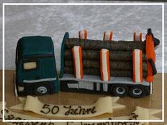 Marzipan-LKW, Holztransporter