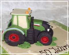 Marzipanauto, Traktor Fendt