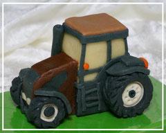 Marzipanauto, Traktor