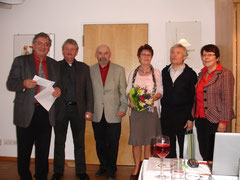 Ursula Möller, Ursula Hirschmann, Hans Heiden, Heinrich Kögel und Loni Schwarz sind aus dem Ausschuss ausgeschieden