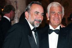 Jean-Paul BELMONDO et Jean DULERY - Festival de Cannes 2011 - Photo © Anik COUBLE