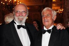 Jean-Paul BELMONDO et Jean Pierre MARIELLE - Festival de Cannes 2011 - Photo © Anik COUBLE