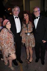 Les femmes panthères avec Robert De Niro et Thierry Fremaux - Festival de Cannes 2011 © Anik COUBLE