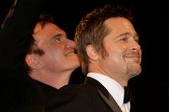 Brad Pitt et Quentin Tatantino - Festival de Cannes 2009 - Photo © Anik COUBLE