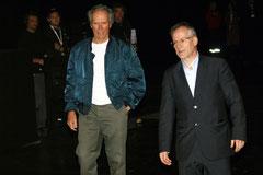 Clint Eastwood et Thierry Fremaux - Festival Lumière 2009 © Anik COUBLE