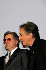 Daniel Auteuil et Richard Berri - Festival Lumière - Lyon - Oct 2013 - Photo © Anik COUBLE