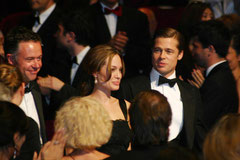 Brad Pitt et Angelina Jolie - Festival de Cannes 2007 - Photo © Anik COUBLE