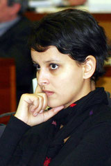 Najat Vallaud-Belkacem - Lyon - 2005 - Photo © Anik Couble