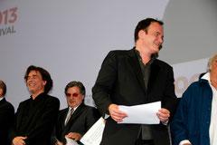 Jean-Michel Jarre, Daniel Auteuil et Quentin Tarantino - Festival Lumière - Lyon - Oct 2013 - Photo © Anik COUBLE