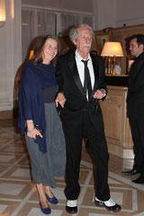 Jean Rochefort et son épouse - Festival de Cannes 2011 © Anik COUBLE