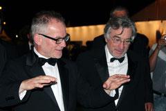 Robert De Niro et Thierry Fremaux - Festival de Cannes 2011 © Anik COUBLE