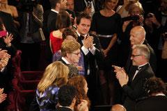 Robert Redford, Thierry Fremaux et Gilles Jacob - Festival de Cannes 2013 © Anik COUBLE