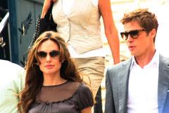 Brad Pitt et Angelina Jolie - Festival de Cannes 2007 - Photo © Anik COUBLE