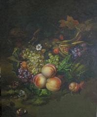 Natura morta - olio su tela dimensione 40 x 50