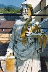 San Pietro prima dell'intervento di resaturo