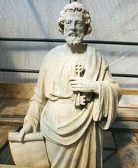 San Pietro dopo l'intervento di restauro
