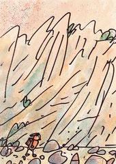 WANDERN (STEILKÜSTE) 20X14,5 cm 165,-€