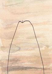 TORSO (MEER) IV.3  14,5X10 cm 90,-€