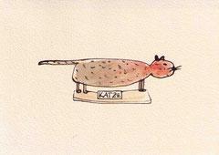 KATZE VII 10X14,5 cm 90,-€