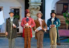 Martin Popp (Kuppelwieser) , Michael J. Schwendinger (Hofopernsänger Vogl) , Klaus Paar (Schwind) , Alexander Kaimbacher (Schober)