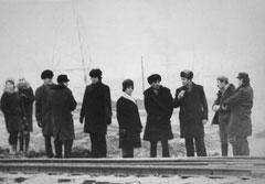 Открытие линии до Литейного завода. 1 января 1976 года.