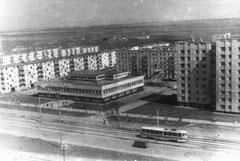 Посёлок ГЭС,  Студенческая. 1974 год.