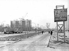 """Посёлок ГЭС в районе ост. """"Универсам""""."""