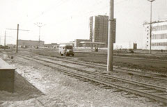 Трамвайные пути на проспекте  Мусы Джалиля.