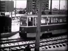 Трамвай на проспекте Мусы Джалиля.