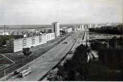 Трамвайная линия на проспекте Мусы Джалиля.
