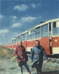 """Первые вагоны. Из книги """"Поступь Батыра. КАМАЗ-72"""""""